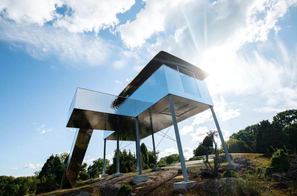 Arquitectura mimetizada con el entorno