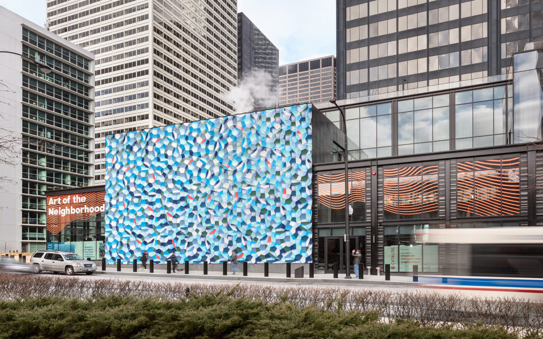 Un mosaico de Olafur Eliasson ondula el centro de Chicago