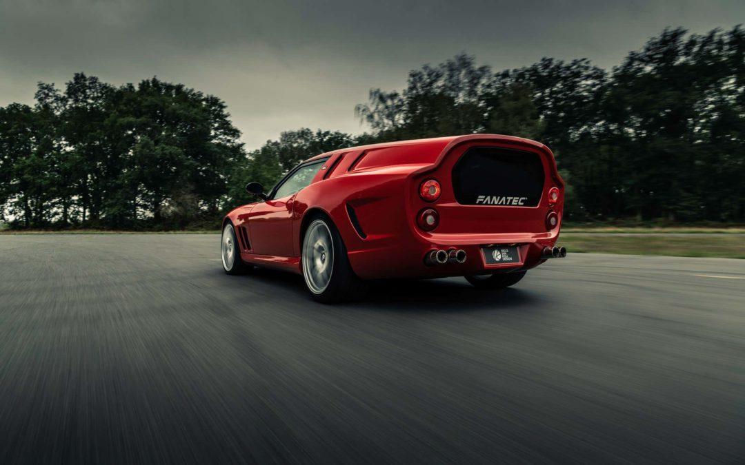 Niels van Roij presenta un homenaje al Ferrari 250 GT SWB Breadvan